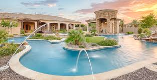 How To Make A Lazy River In Your Backyard Lazy River Pools Residential Lazy Rivers Phoenix Landscaping