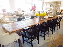 Farm House Dining Chairs Furniture Astounding Farmhouse Dining Table Made From