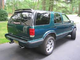 opel blazer 1996 chevrolet blazer information and photos momentcar