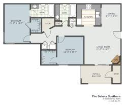 Southern Floor Plans Floorplans Warner Robbins Apartments Southland Station