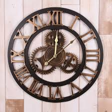 huge wall clocks home design large wall clocks with gears fireplaces general