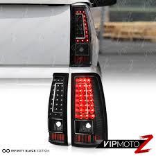 2004 chevy silverado led tail lights 2003 2006 chevy silverado 1500 2500 3500 c shape black led rear tail