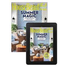 house beautiful subscriptions house beautiful print digital subscription only 6