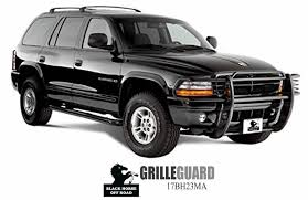 dodge dakota black grill grille guards