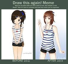 Nervous Meme - draw this again meme by xmiichi on deviantart