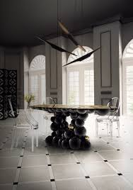 Luxury Round Dining Table 10 Gorgeous Black Dining Tables For Your Modern Dining Room