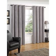 Premium Curtains B M Valencia Textured Premium Blackout Eyelet Curtain 66 X 90