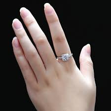 wedding rings for couples cubic zirconia diamond engagement ring for women sterling