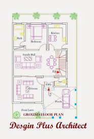 architect designed house plans home architecture ground floor plan jpg ã marla house