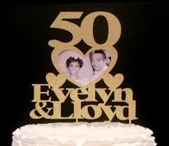 50th cake topper glitter name topper glitter anniversary cake topper gold