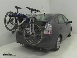 toyota prius bike rack toyota prius trunk bike rack etrailer com