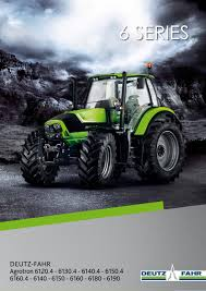 deutz fahr 6 series english brochure by deutz fahr issuu