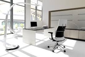White Modern Desk Chair Modern White Office Furniture White Modern Designer Office