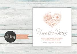 digital save the date save the date card digital printable file lila wedding range