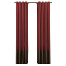 alcott hill lucille solid blackout grommet curtain panels