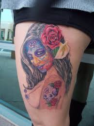 pin up sugar skull creativefan