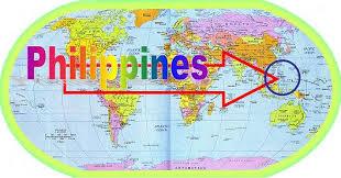 map of equator philippines map equator