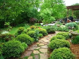 garden landscapes ideas home design beautiful garden backyard landscape ideas home design