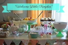 fall baby shower welcome little pumpkins barnaclebutt