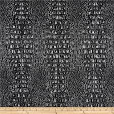faux leather metallic gator sparkle silver from fabricdotcom this