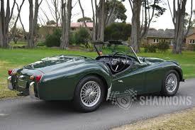 triumph tr3 roadster auctions lot 11 shannons