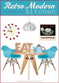 retro modern kitchen get the look retro modern kitchen ideas