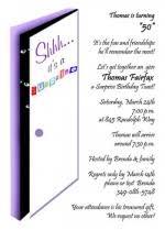 celebrate with creative 50th birthday invitation wordings