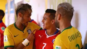 fanáticos de chile y brasil se unieron en una campaña contra