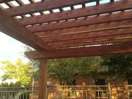 Red Cedar Pergola Kits by Pergola Kit Aromatic Eastern Red Cedar Wood And Hardware