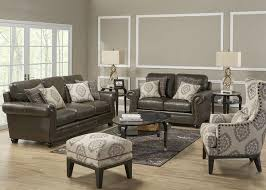 stuffed chairs living room fascinating isabella 3 pc l r w accent chair living room sets at