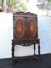 Curio Cabinets Richmond Va Traditional Antique Cabinets U0026 Cupboards Ebay