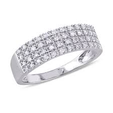 silver diamond rings silver wedding rings wedding zales