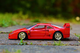 toy ferrari free stock photo of ferrari miniature red