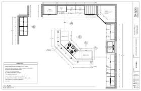 Kitchen Design Plans Sle Kitchen Floor Plan Shop Drawings Pinterest Kitchen