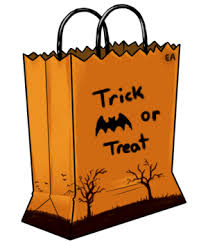 trick or treat bags trick or treat bag clipart
