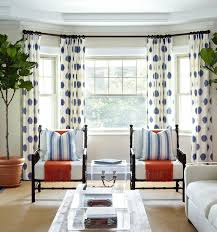 Curtains On Bay Window Contemporary Living Room With Bay Window By Home Stratosphere