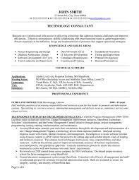Sample Etl Testing Resume by Top Consulting Resume Templates U0026 Samples