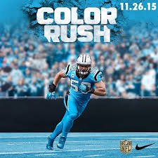 panthers and cowboys unveil color uniforms for thanksgiving