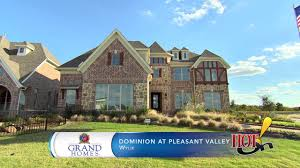 Dominion Homes Floor Plans Grand Homes At Dominion At Pleasant Valley In Wylie Tx Youtube