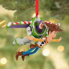 woody buzz lightyear flying sketchbook ornament 2013 from our