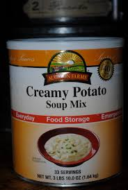 paratus familia blog product review augason farms potato soup