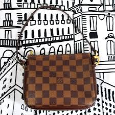 louis vuitton today only sale lv damier ebene square pochette