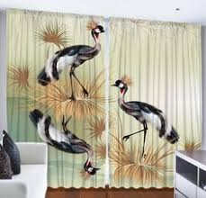 90 Inch Curtains Drapes Ocean Beach Sunset Scene Digital Graphic Technology Printed