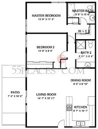majorca floorplan 1040 sq ft laguna woods village 55places com