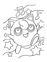 pokemon coloring pages free music coloring pages