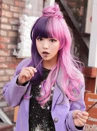 hairstyle hairpunk fashions harajuku asian girls long hairstyle