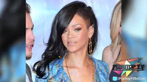 Half Shaved Hairstyles Girls by Rihanna Debuts Half Shaved Head In Japan Youtube