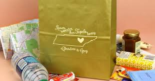 wedding hotel welcome bags state by state souvenir ideas for wedding welcome gift bags