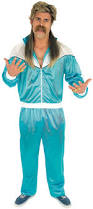 80s blue shell suit 80s costumes mega fancy dress
