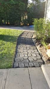 Quikrete Paver Mold by 10 Best Landscaping Ideas Walkway Pavers Cobblestone Pathmate